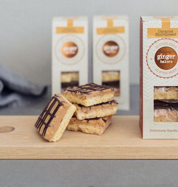 Caramel Shortbread Box